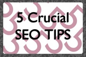 Five Crucial SEO Tips   COSO Media